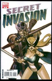 Secret Invasion #2 Leinil Yu Variant 1:50 Marvel comic book